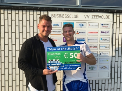 Man of the Match VVZ-EZC'84